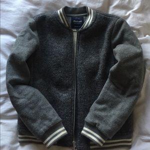 Small madewell wool bomber